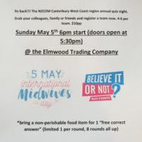 International Midwives Day – Annual Quiz Night!